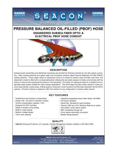 SAPL-DS-0121 Oil Filled Hose