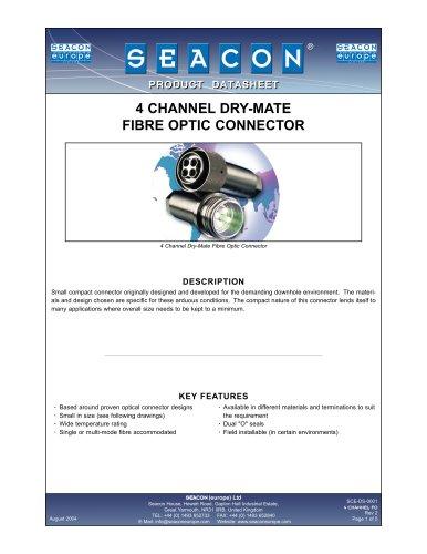 SCE-DS-0001 4 Channel Dry-Mate Fiber Optic Rev 2