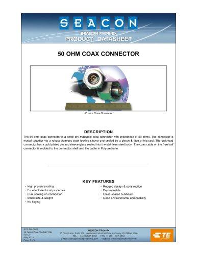 SCP-DS-0002 50 Ohm Coax Rev 2