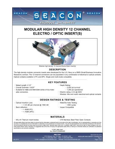 SEACON-DS-0105 Modular High Density Connector Rev 2