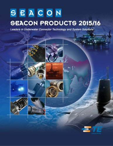 SEACON PRODUCTS 2015/16