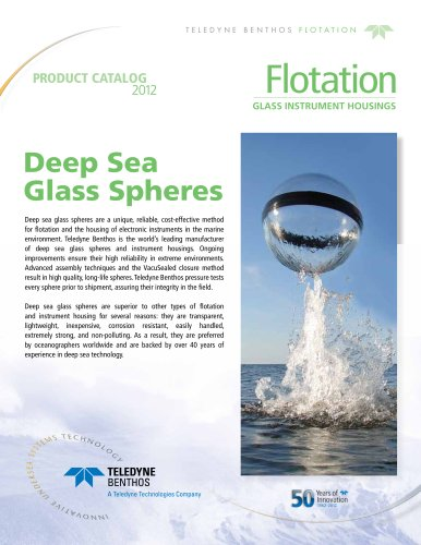 Glass Sphere Product Catalog