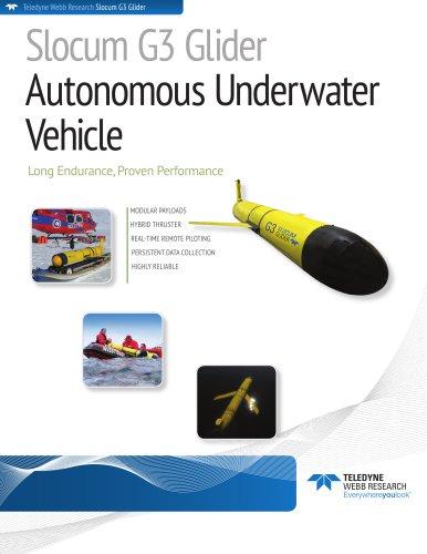 Slocum G3 Glider Autonomous Underwater  Vehicle