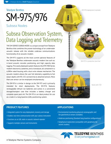 Subsea Node Data Sheet Sheetce