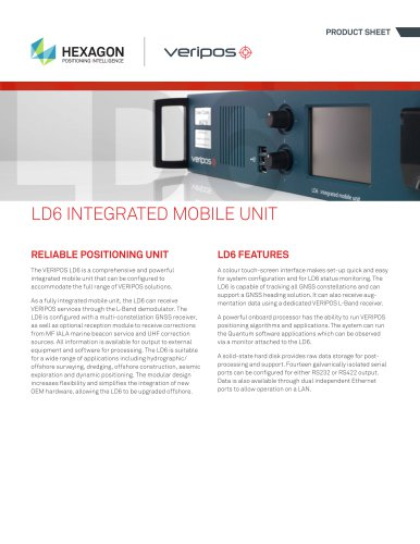 LD6 Integrated Mobile Unit