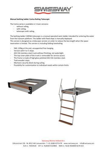 Carina Railing Tele product sheet