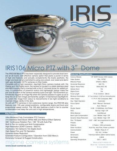 IRIS106 Mini PTZ
