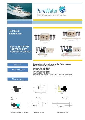 Sea Star 350-500 C+C