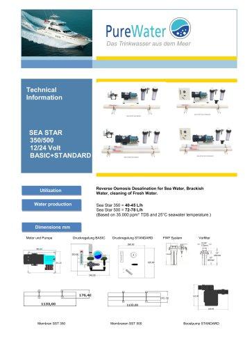 Sea Star B+S 350-500