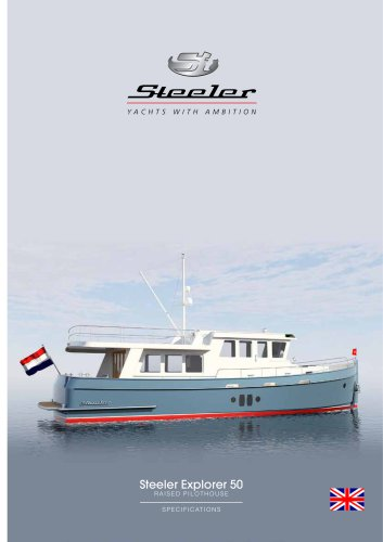 Steeler Explorer 50 RAISED PILOTHOUSE