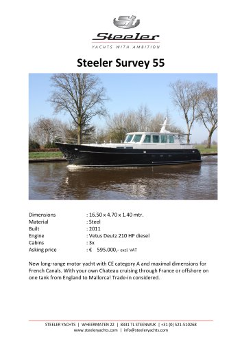 STEELER SURVEY 55