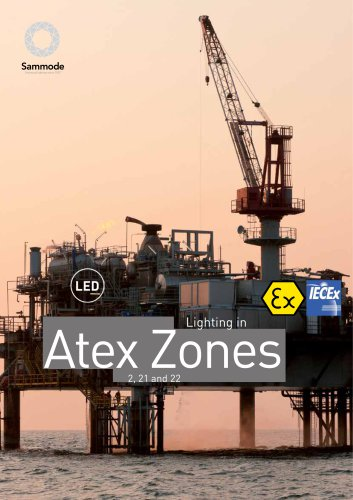 Lighting in ATEX zones LED