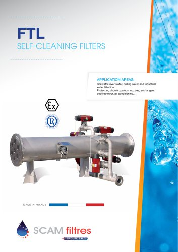 Self-cleaning filters