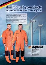 Immersion and rescue suits - 1
