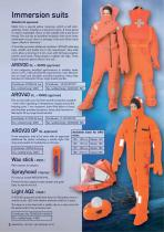 Immersion and rescue suits - 8