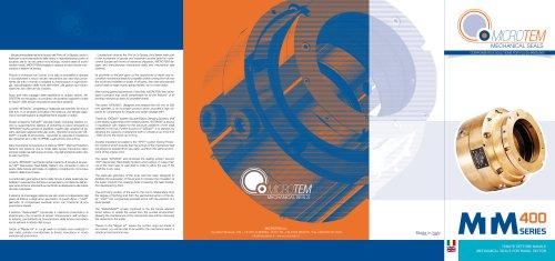 MTM 400 brochure