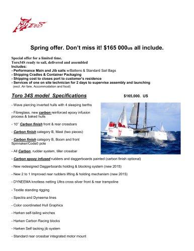 Toro34S 2015 Spring Sales Promotion
