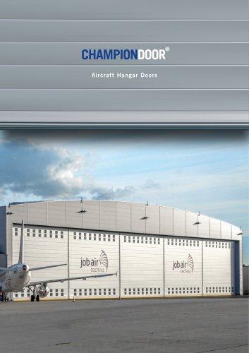 CHAMPION DOOR AIRCRAFT HANGAR DOORS