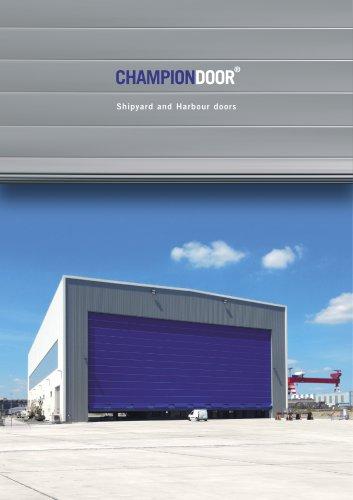 CHAMPIONDOOR® Shipyard and Harbour doors
