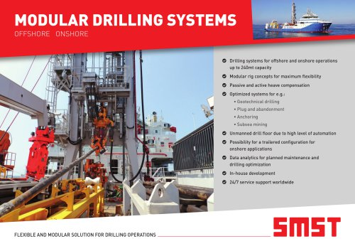 Modular Drilling Systems