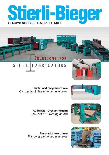 Solutions for STEEL FABRICATORS