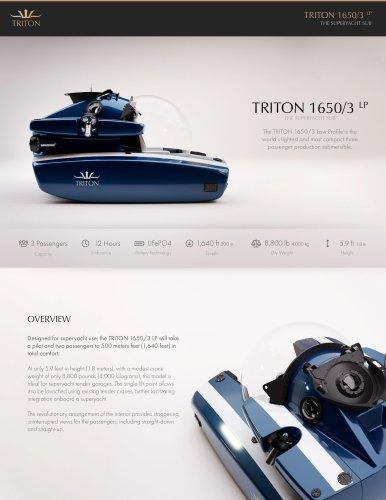 TRITON 1650/3 LP