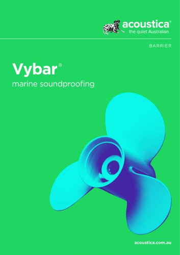 Vybar ® marine soundproofing