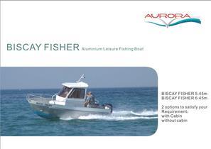 Aluminium fishing boat