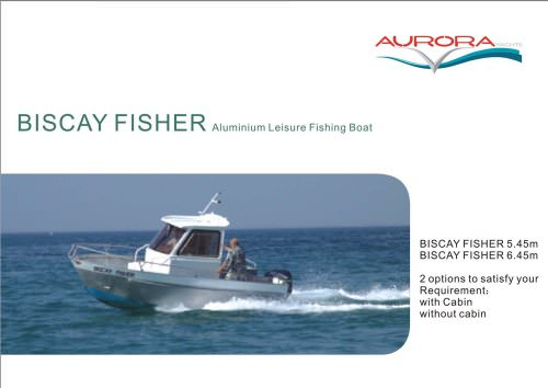 Aluminium fishing boat