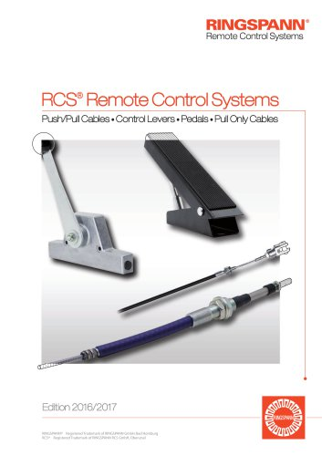 RCS® Remote Control Systems