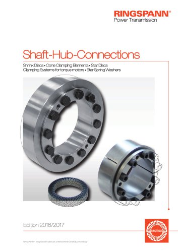 Shaft Hub Connections RINGSPANN
