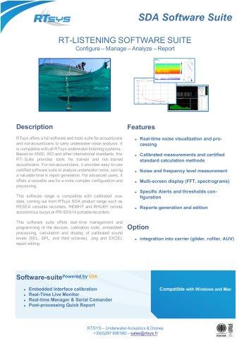 SDA Software Suite