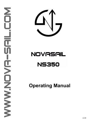 NS350 operating manual