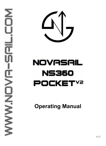 NS360 Pocket V2 operating manual