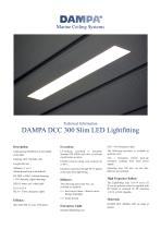 DCC 300 LED Slim Light brochure