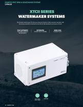 XTC II            (SeaXchange) Saltwater Purification Reverse Osmosis