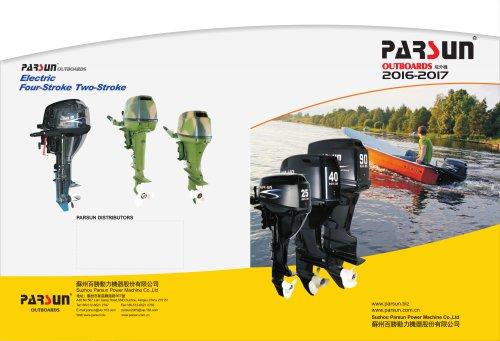 2016 PARSUN catalogue