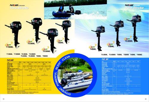 PARSUN 2-stroke outboard motor 2-15hp