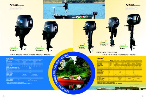 PARSUN electric outboard motor