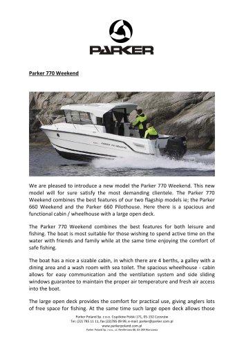 Parker 770 Weekend