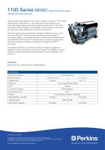 M250C Marine Specification Sheet
