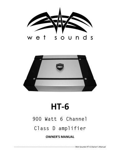 HT6 Marine Amplifier