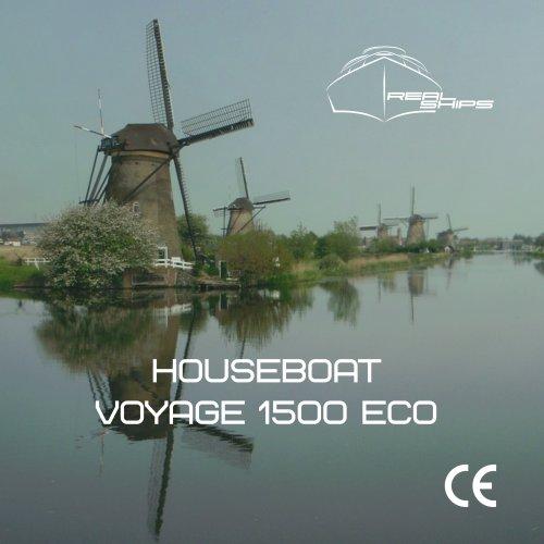 Houseboat Voyage 1500 Eco EN