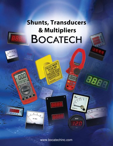 Shunts,transducers,multipliers