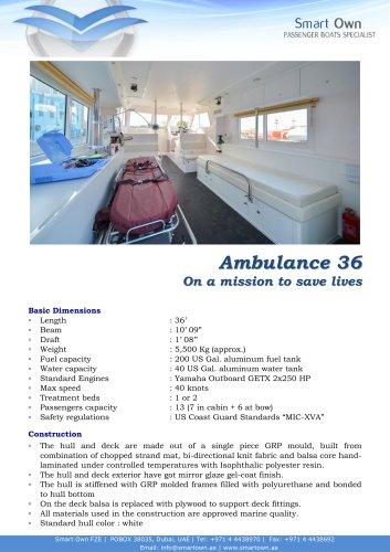 Ambulance 36 - English