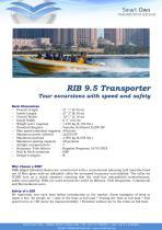 RIB 9.5 Transporter