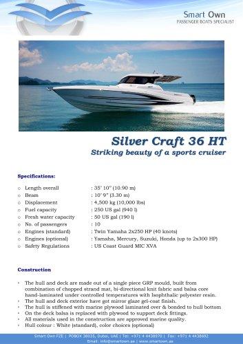 Silver Craft 36 HT - English