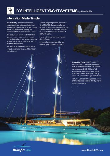 Intelligent Yacht Systems