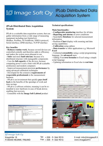 IpLab Distributed Data Acquisition System