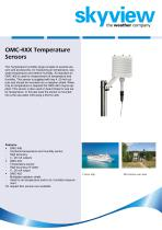 OMC-406 Temperature & Humidity Sensor